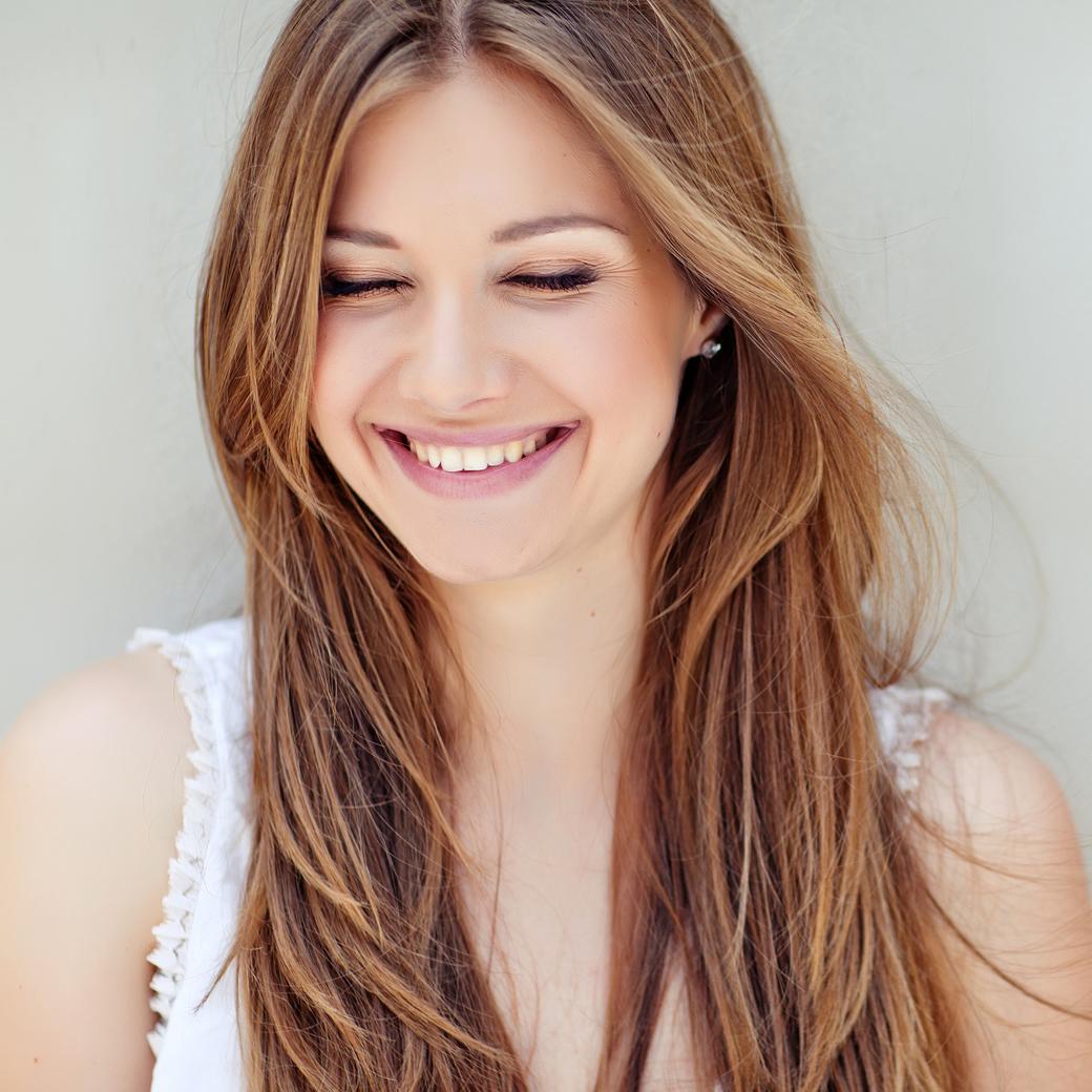 Junge Frau - Schönheit durch Anti-Aging